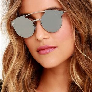 Spitfire silver reflected sunglasses